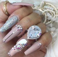 Best 25+ Bling nails ideas on Pinterest   Bling acrylic ...