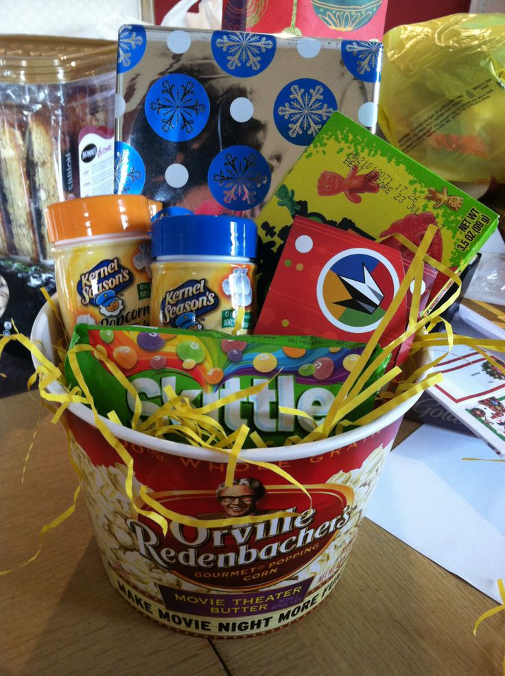 Movie Gift Basket Orville Popcorn Bucket From Target