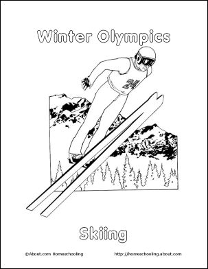 78 Best images about Olympics Coloring Sheets on Pinterest