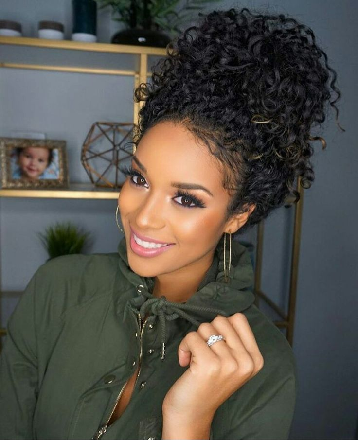 9849 Styling Naturally Curly Black Hair Da Jharayhenriquez