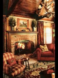 25+ best ideas about Cottage fireplace on Pinterest