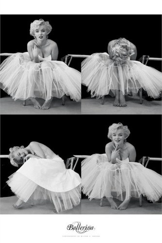 Marilyn Monroe Poster – Ballerina Sequence. Milton Greene Photo. S)