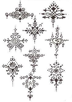 78 Best ideas about Beginner Henna Designs on Pinterest