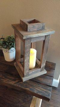 The 25+ best Wooden lanterns ideas on Pinterest