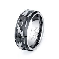 For him...this is really pretty cool. Military Camo Ring