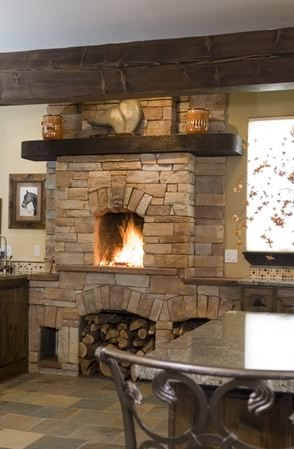 1000 Images About Kitchen Fireplaces On Pinterest
