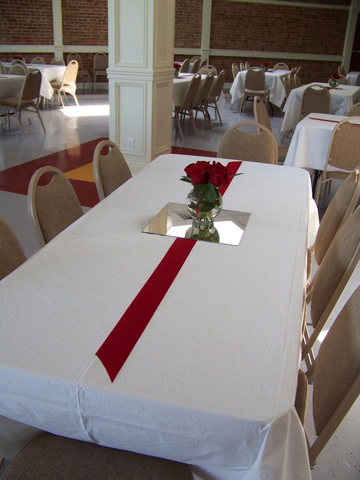 Class reunion table decorations  Reunion ideas  Pinterest  Reunions Simple centerpieces and