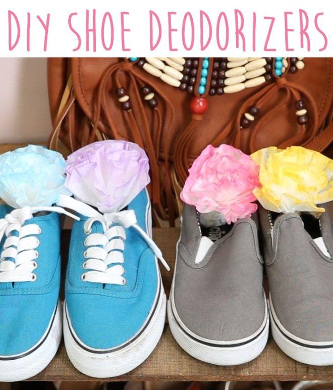 Diy shoe deodorizers nifty hacks pinterest shoes