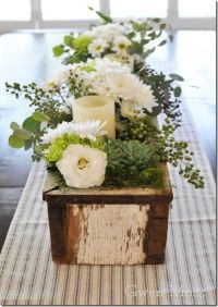 1000+ images about Wood Centerpiece Box on Pinterest ...