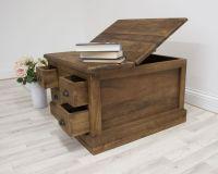 Teak Salon coffee table / storage unit | Eco Chic (Green ...