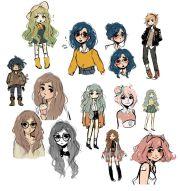 ideas cute cartoon drawings