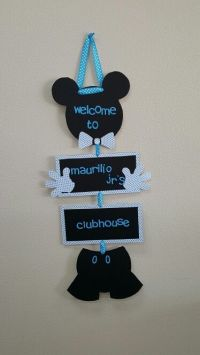 Mickey mouse baby'shower for boy... | decor ideas ...