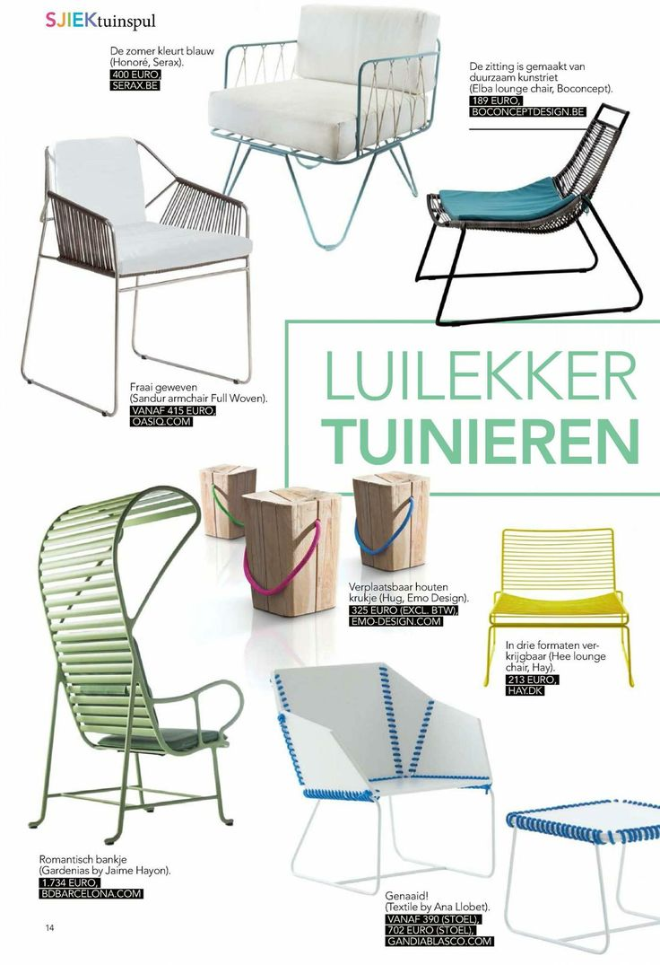 Modern Bold Gardenias Furniture Collection For Outdoors