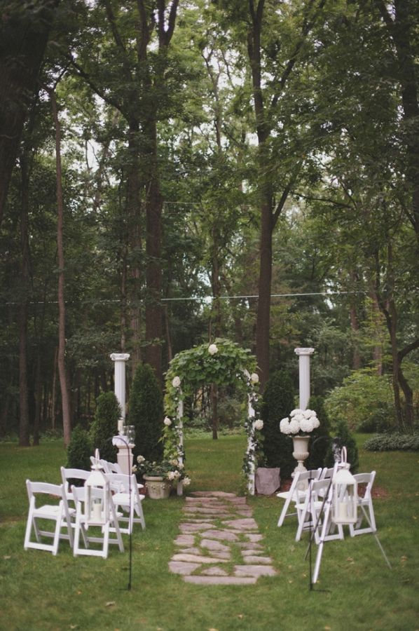 1000 ideas about Small Backyard Weddings on Pinterest