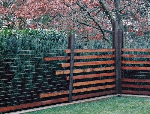 mid century modern fences   Mid Century Modern Renovation Ideas / fence detail