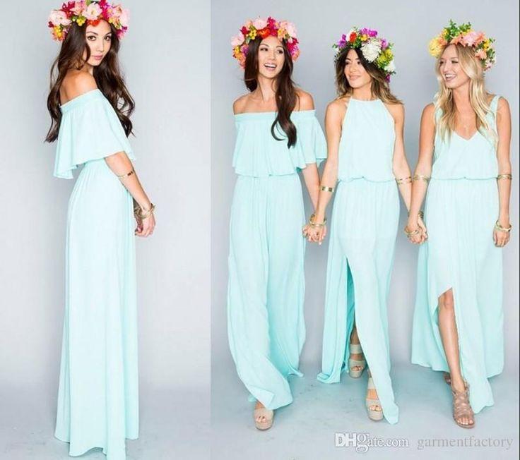 25 best ideas about Bohemian bridesmaid dresses on Pinterest  Different bridesmaid dresses