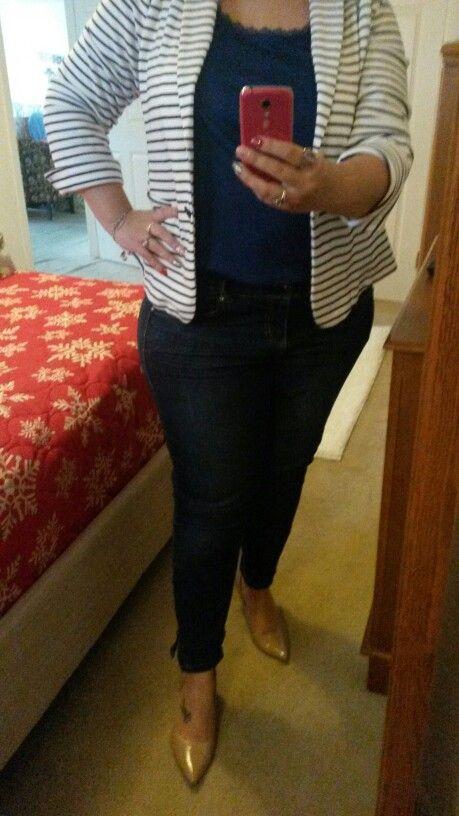 My own creation jacket old navy shirt qvc pants torrid