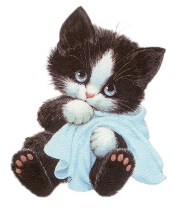 Ruth Morehead Cat Clip Art