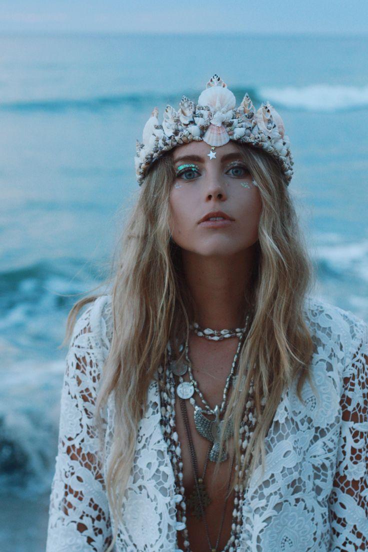 The Dreamer Mermaid Crown Bohemian N Pinterest