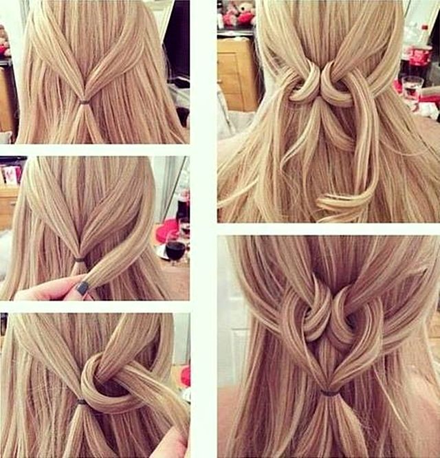 25 Best Ideas About Quick Easy Hairstyles On Pinterest Quick