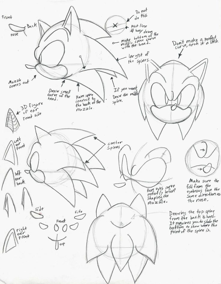 Best 25+ How to draw sonic ideas on Pinterest