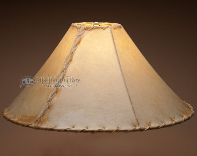 Southwestern Rawhide Lamp Shade 20 Table or Floor  The