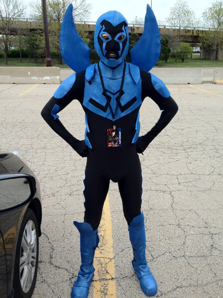 How To Make A Dc Quot Blue Beetle Jaime Reyes Quot Costume