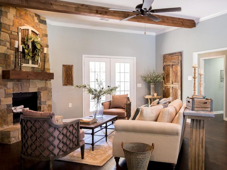 how to arrange living room furniture with corner fireplace light green walls design dilemma arranging around a wall color fixer upper yours mine ours and home on the river