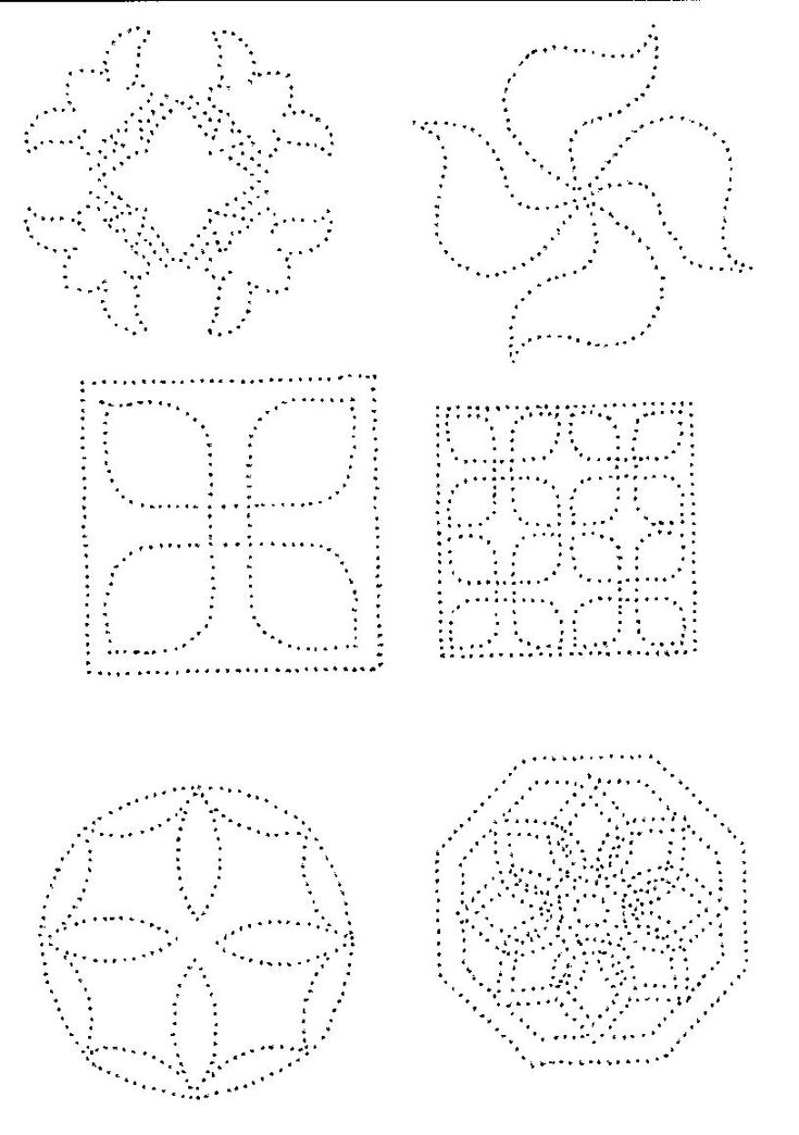 Butterfly Tin Punch Pattern