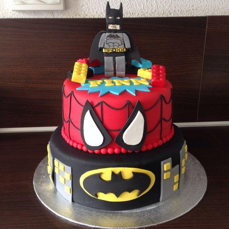 Lego Marvel Cake My Sweet Cakes Pinterest Marvel