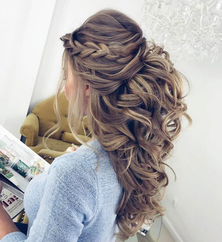 The 25 Best Braids And Curls Ideas On Pinterest Prom Hairstyles