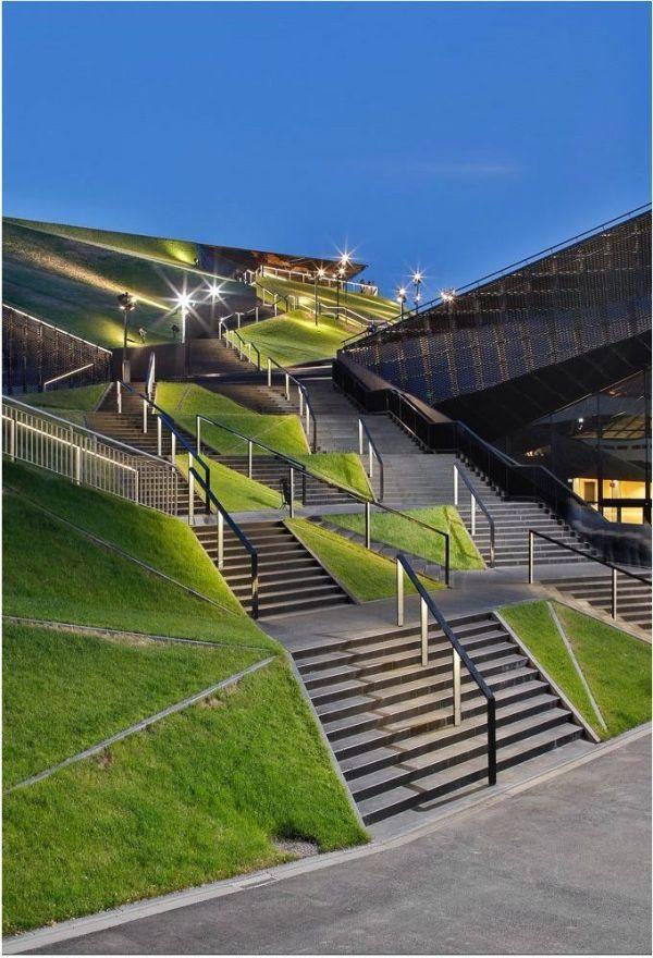 amazing staircase landscape architecture