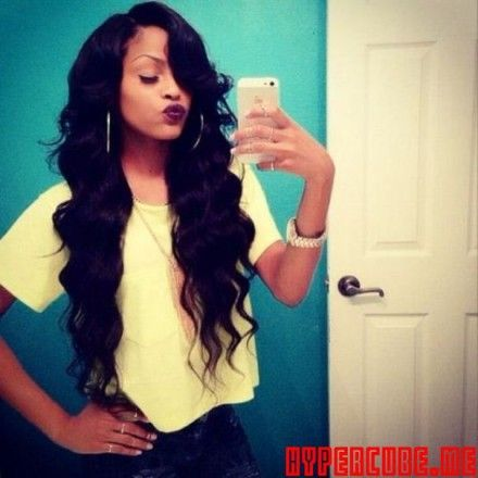 25 Best Ideas About Cute Weave Hairstyles On Pinterest Black