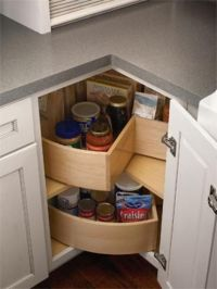 Kitchen cabinet lazy-susan | Kitchen Wonderfulness ...
