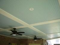 ceiling for basement? Paint beadboard | Basement Ideas ...