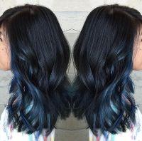 1000+ ideas about Dark Blue Hair on Pinterest | Blue Hair ...