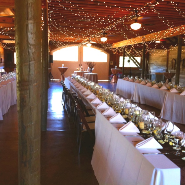 country barn wedding reception  Western Wedding Ideas  Pinterest  Receptions The ojays and
