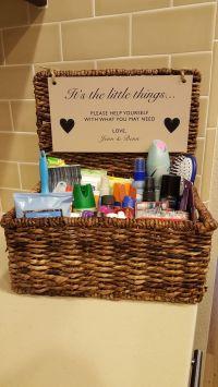 The 25+ best Wedding bathroom baskets ideas on Pinterest ...