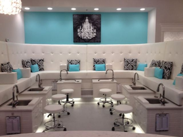 1000 ideas  about Nail Salon  Decor  on Pinterest Salons