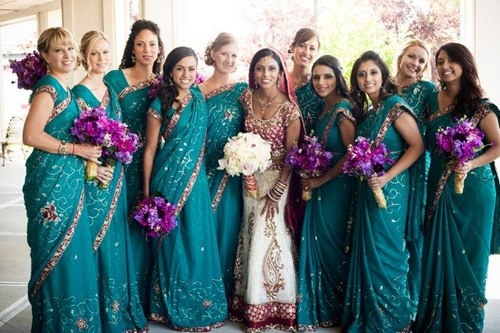 Only Best 25+ Ideas About Bridesmaid Saree On Pinterest