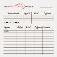Free Bi Weekly Budget Worksheet Excel - weekly budget free ...
