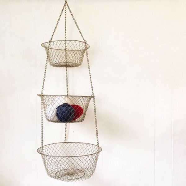 hanging kitchen basket 25+ Best Ideas about Hanging Fruit Baskets on Pinterest | Fruit kitchen decor, Wire basket
