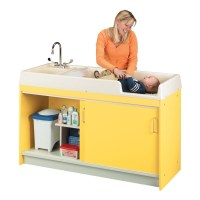 Infant changing table for nursery or child care center ...