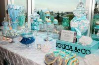 breakfast at tiffany's sweet 16 party | Tiffany Blue Sweet ...