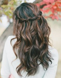 25 Best Ideas About Brown Wavy Hair On Pinterest Carmel
