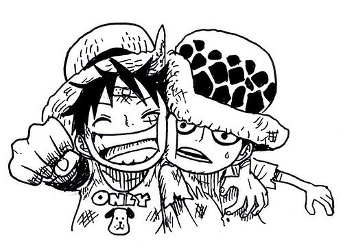 Young Luffy