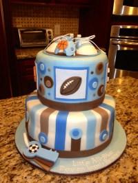 All-Star Baby Shower Cake   Baby shower ideas   Pinterest ...