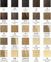 hair color chart paul mitchell