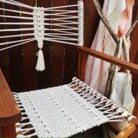 25+ best ideas about Macrame chairs on Pinterest | Macrame ...