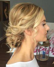 ideas blonde updo